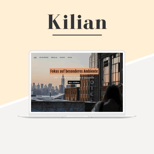 Kilian - Demo - Website