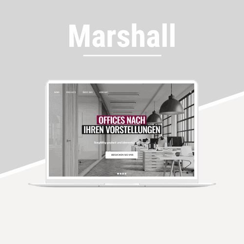 Marshall - Demoseite