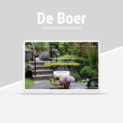 De Boer - WordPress-Vorlage für Architektur und GALA-Bau