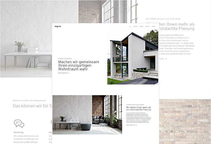 Ingvar - WordPress-Vorlage für Architektur und GALA-Bau