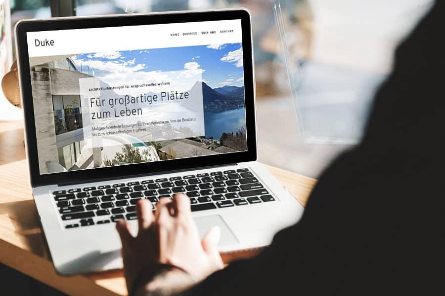 Webdesign für Architekten/Interior-Designer